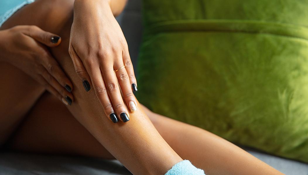 bende e massaggi alle gambe